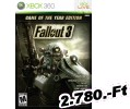 Fallout 3 Game Of The Year Edition Xbox 360 Játék