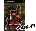 Ninja Assault PlayStation 2 Játék