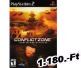 Conflict Zone Modern War Strategy PlayStation 2 Játék