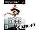 Great Battles Of Rome PlayStation 2 Játék