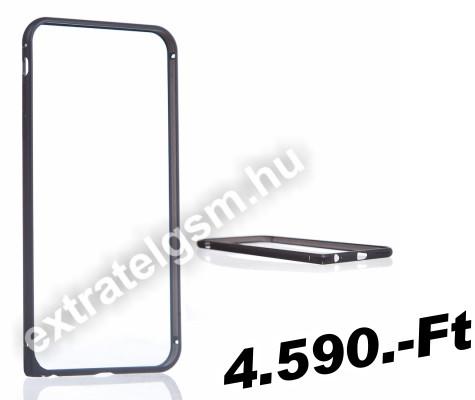 5d1b2e99b6 Apple iPhone 6 Plus 5.5 / 6S Plus 5.5 DESOF ICON METAL fekete bumper tok