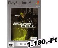 Tom Clancys Splinter Cell Platinum PlayStation 2 Játék