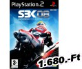 SBK 08 Superbike World Championship PlayStation 2 Játék