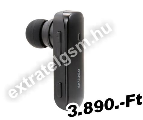 Egy füles (Mono) bluetooth headset Astrum ET140 BT 3.0 Multipoint ... 223e962185