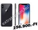 Apple iPhone X 64GB Fekete / Grey Mobiltelefon
