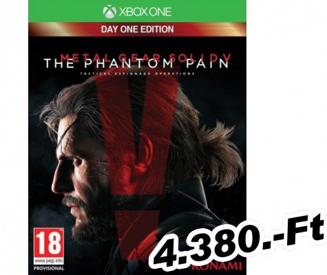 Metal Gear Solid 5 The Phantom Pain Day One Edition Xbox One Játék