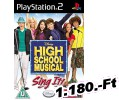 High School Musical Sing It PlayStation 2 Játék