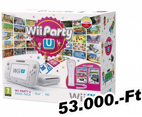 Wii U Basic Pack 8GB Konzol