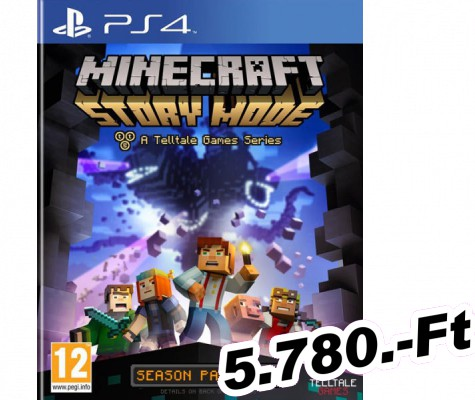 Minecraft Story Mode PlayStation 4 Játék