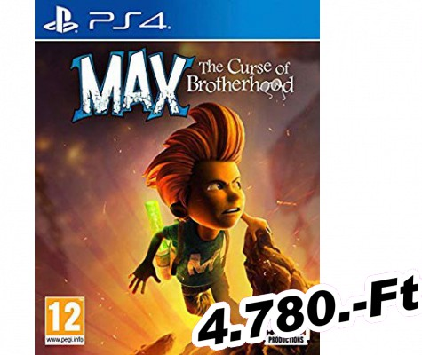 Max The Curse of Brotherhood PlayStation 4 Játék