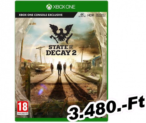 State of Decay 2 Xbox One Játék