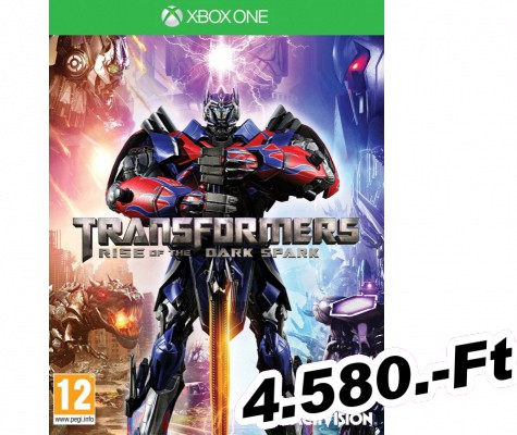 Transformers Rise Of The Dark Spark Xbox One Játék