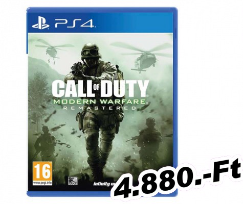 Call of Duty Modern Warfare Remastered PlayStation 4 Játék