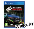 Assetto Corsa Competizione The Offical GT World Challenge Game PlayStation 4 Játék